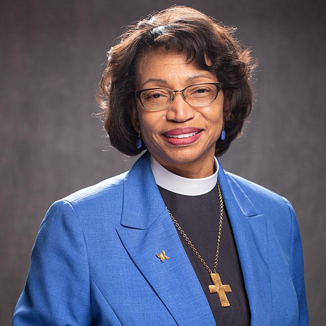 The Rev. Canon Dr. Angela F. Shepherd