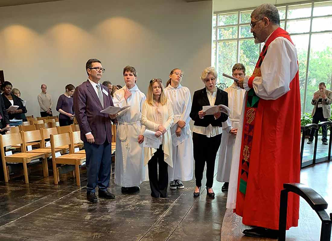 Confirmation with Bishop Wright, February 23, 2020